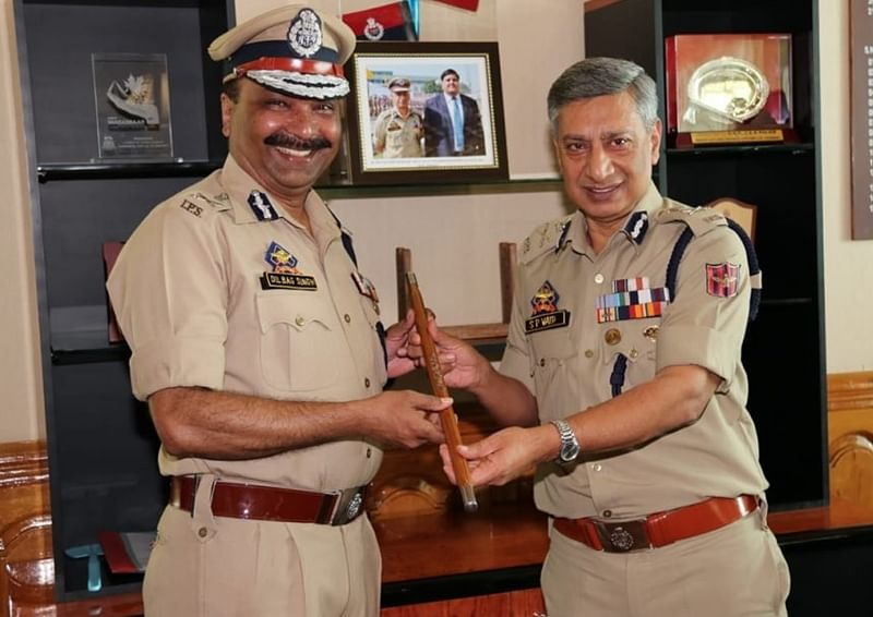 Dilbag Singh takes over as new Jammu and Kashmir police chief after SP Vaid removed
