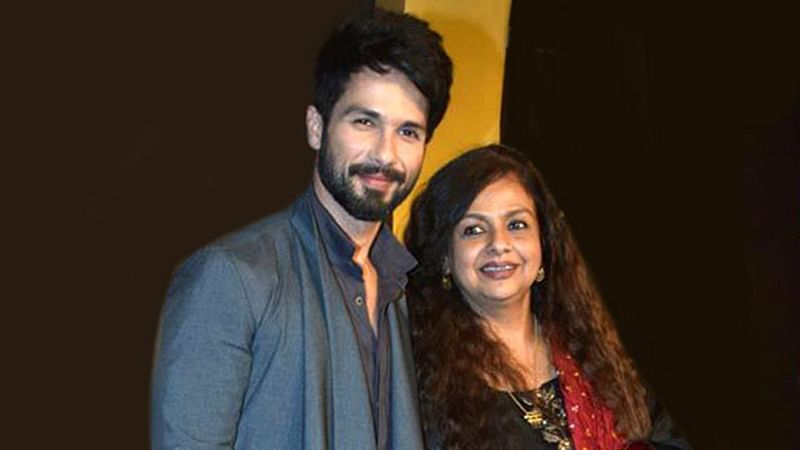 Shahid Kapoor wishes mother Neelima Azeem with a sweet post on her 62nd birthday
