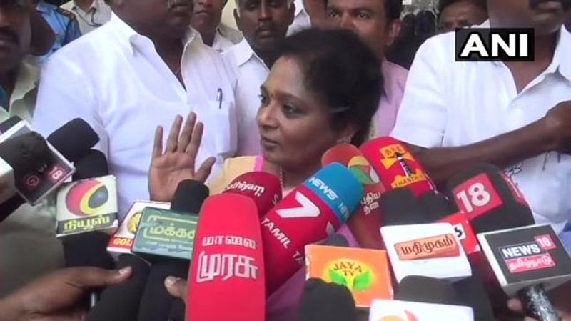 DMK in touch with BJP: BJP Tamil Nadu chief Tamilisai Soundararajan
