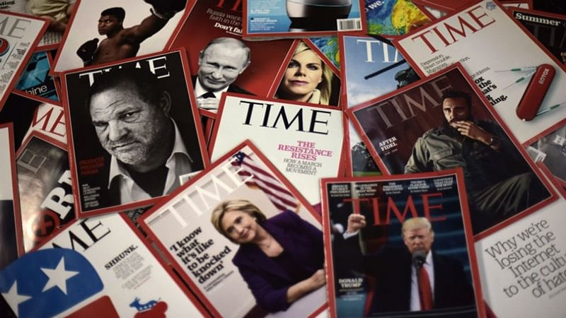 Time magazine sold to Salesforce co-founder Marc Benioff for USD 190 million