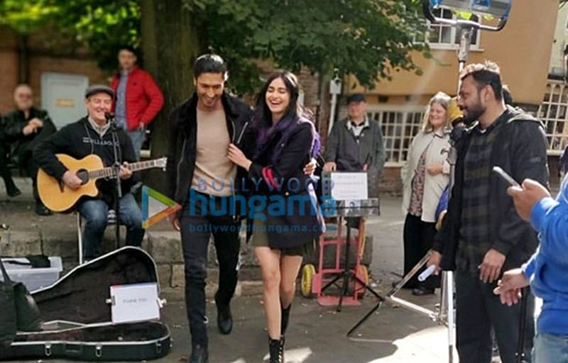 Commando 3 BTS! Vidyut Jammwal films romantic sequence with Adah Sharma