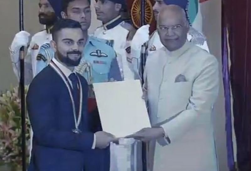 Virat Kohli, Mirabai Chanu conferred with Rajiv Gandhi Khel Ratna Award; Check complete list of winners
