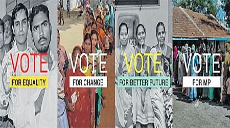 Bhopal: Vote for Change, says CEO's twitter backdrop