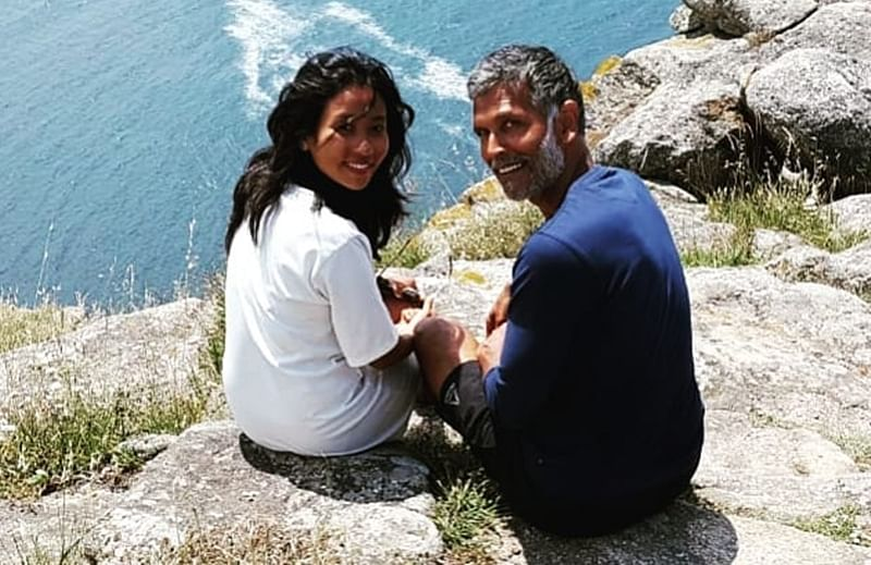 Up close and personal with Milind Soman and Ankita Konwar! The lovely couple you can't get enough of
