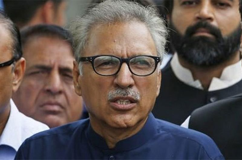 Pak President Arif Alvi calls for dialogue with India, says desire for peace should not be considered as weakness