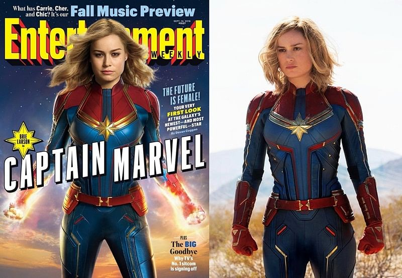 Captain Marvel: Here's the first look of Marvel's first female superhero