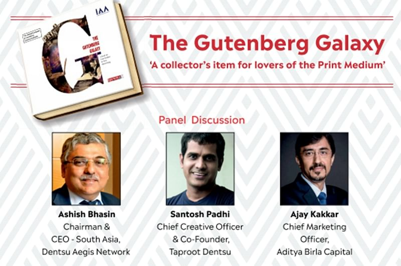 Mumbai: IAA to launch collector's item on 'power of print' – a coffee table book titled 'The Gutenberg Galaxy