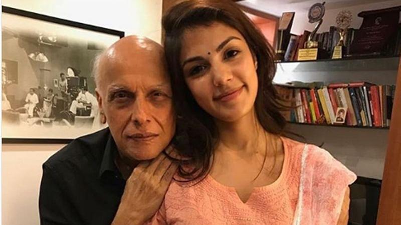 Rhea Chakraborty texted Mahesh Bhatt on June 8 after leaving Sushant Singh Rajput's home?