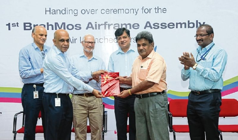 Godrej Aerospace delivers first airframes for BrahMos missile