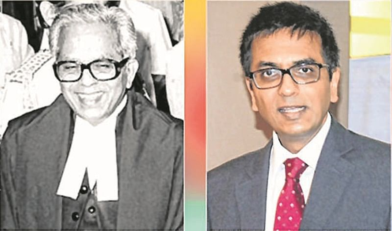 Justice D Y Chandrachud does it again; overrules father's verdict