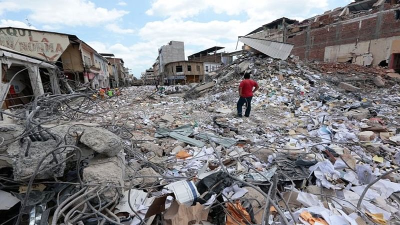 Ecuador: 6.2 magnitude earthquake occurs, no casualties reported