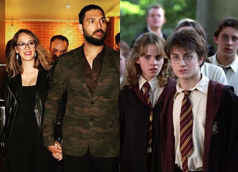 Yuvraj Singh's wife Hazel Keech has starred in 3 'Harry Potter' movies!