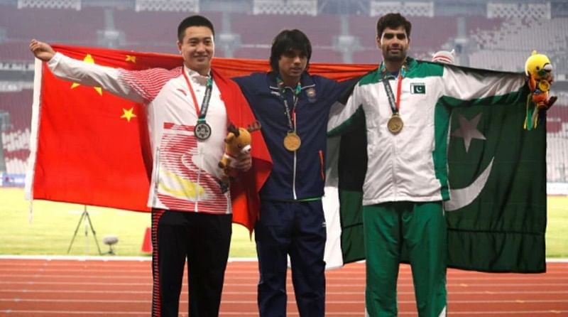 Asian Games 2018: Didn't realise I was standing with Chinese and Pakistani athletes on victory podium, says Neeraj Chopra