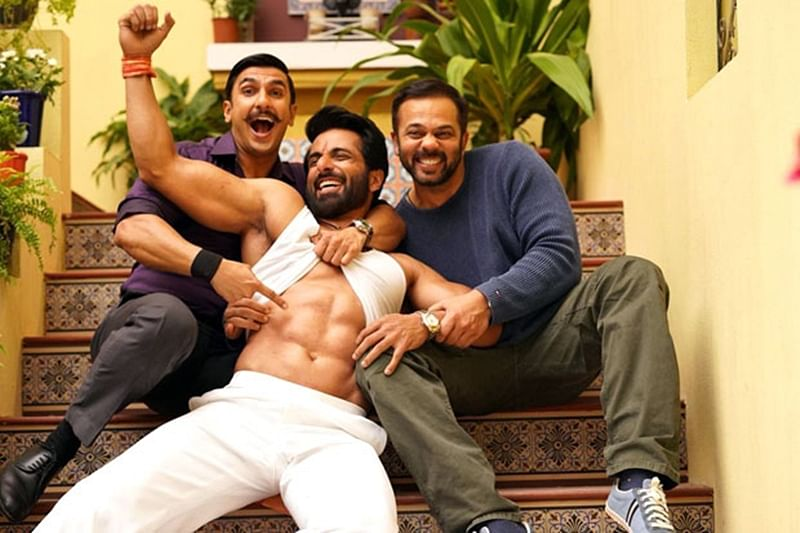 'Simmba' Ranveer Singh is tripping over Sonu Sood's ripped abs; see pic