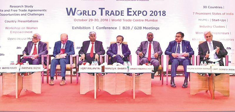 India all set to increase global trade share: Suresh Prabhu
