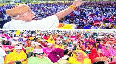 Bhopal: SPAKS mega rally blasts Centre over quota system