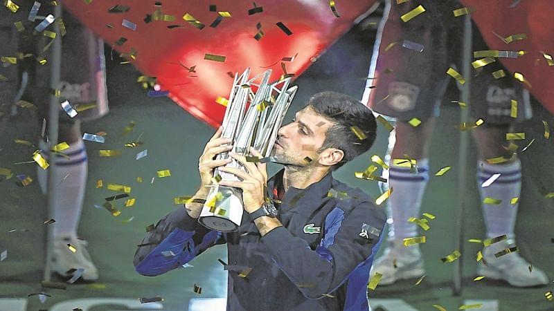 Novak Djokovic wins Shanghai Masters