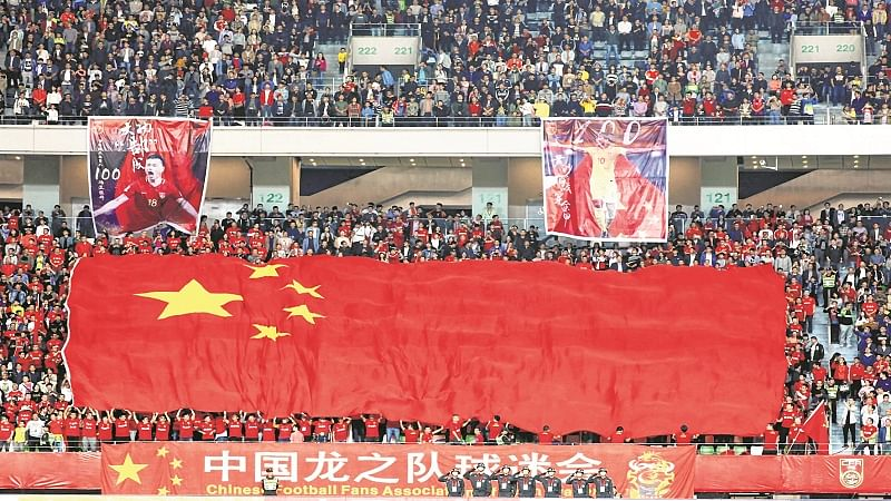 Chinese soccer fans fume as their team draws 0-0 with India