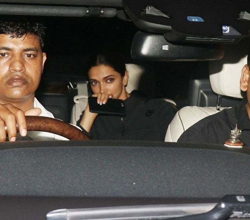 Deepika Padukone spotted exiting Aamir Khan's residence, movie on the cards?