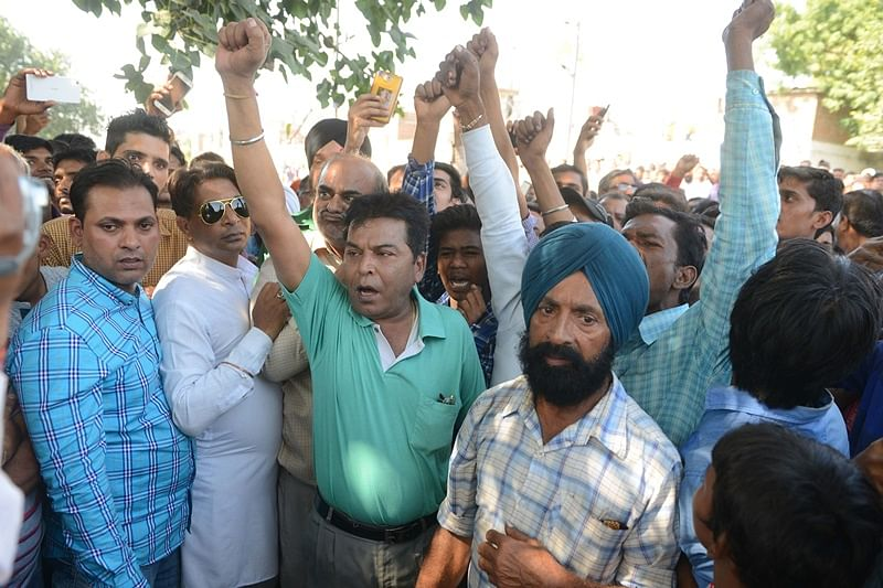 Amritsar Train Tragedy: Protests for tracing missing persons, compensation for victims