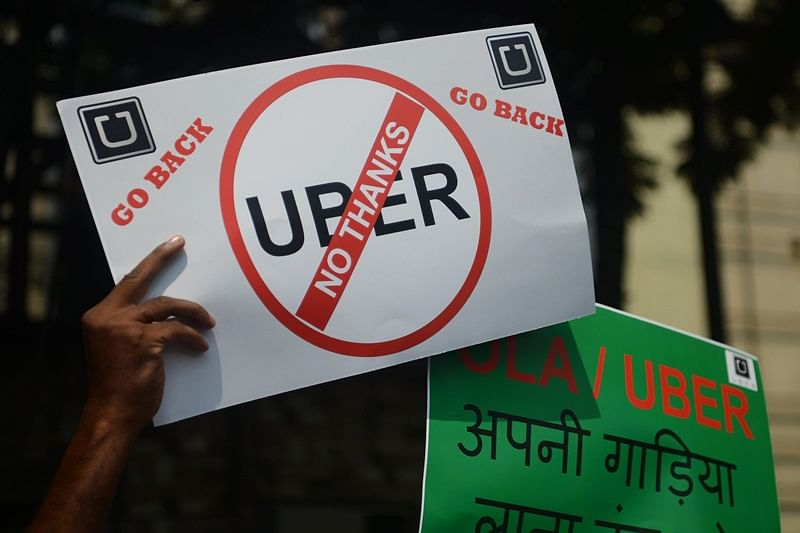 Ola and Uber strike: Some drivers cash in on strike, turn extortionists