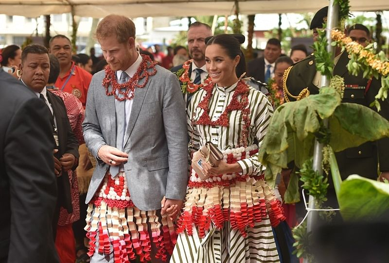 Prince Harry and Meghan dedicate forest reserves in Tonga