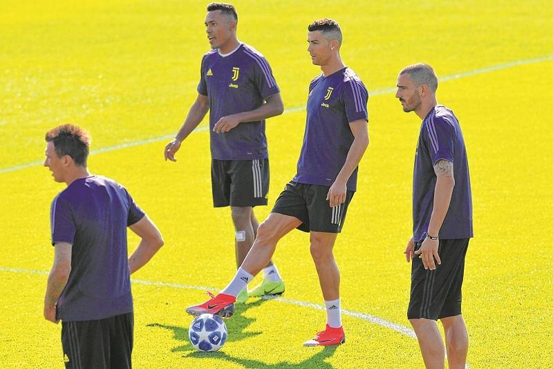 Juventus star  Cristiano Ronaldo returns at Old Trafford