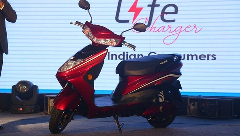 Okinawa Ridge plus Launched At Rs 64,998