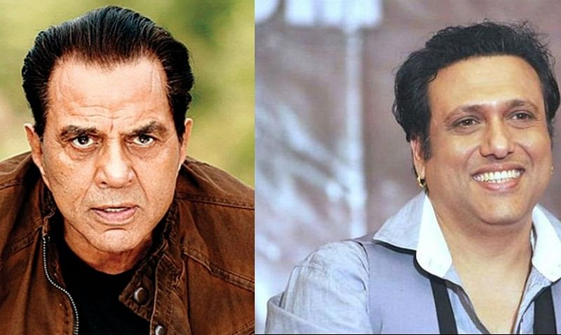Why Govinda used to sign films which had titles of Dharmendra's movies