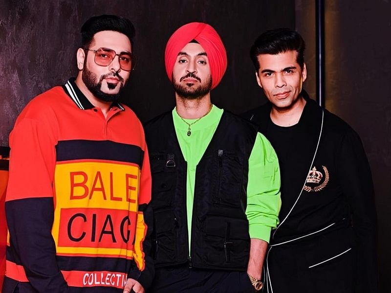 Punjabi sensations Diljit Dosanjh and Badshah to make debut on 'Koffee With Karan 6'