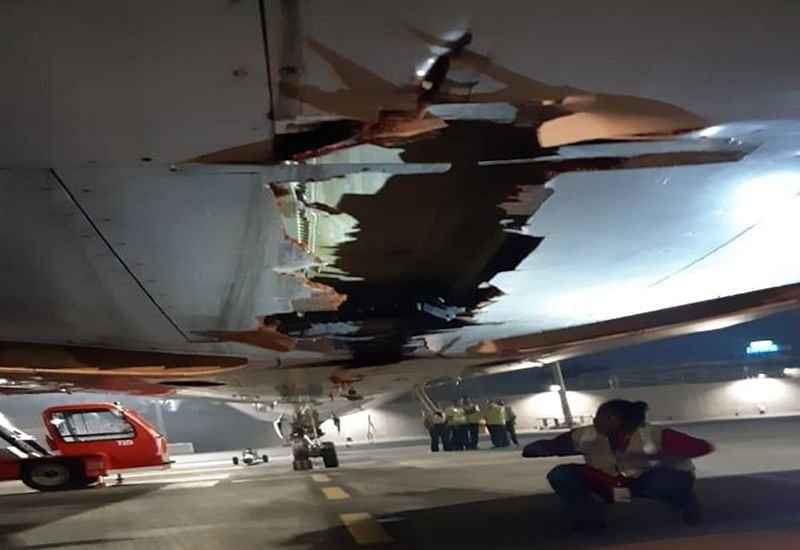 Air India Express flight brushes against wall at Tiruchi airport, all passengers safe