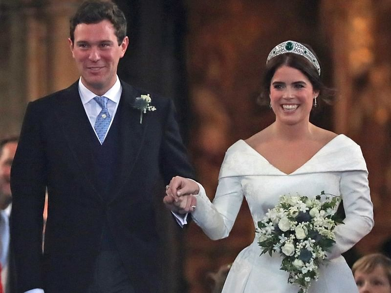 In pictures: Princess Eugenie marries Jack Brooksbank at royal wedding in Windsor Castle