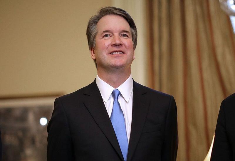 Donald Trump's controversial nominee Brett Kavanaugh sworn in as Supreme Court Judge