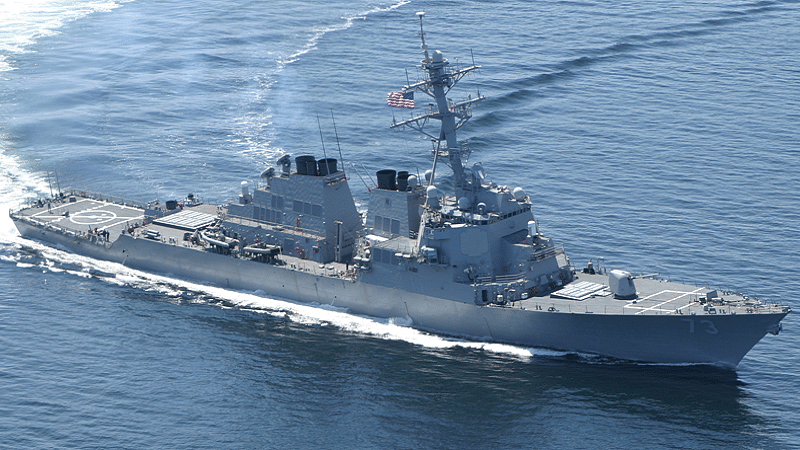 Chinese ship harasses US warship, alleges Pentagon