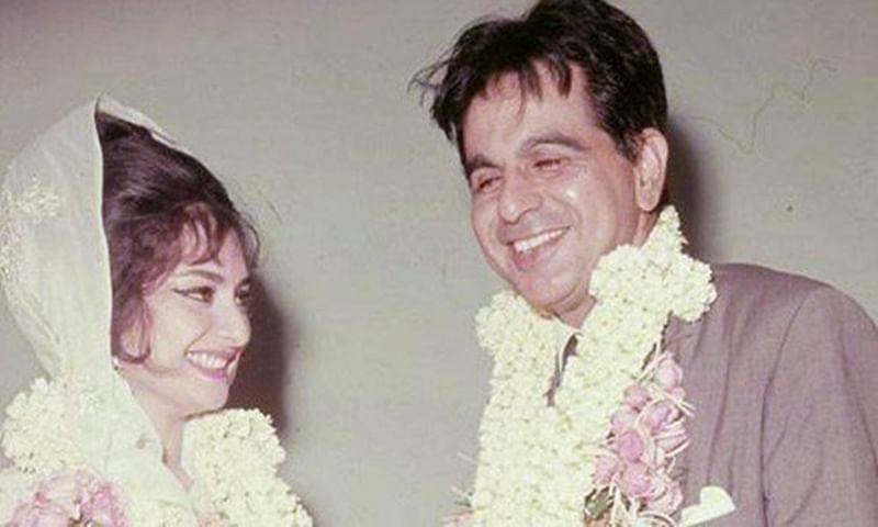 Saira Banu shares throwback pictures with Dilip Kumar on their 52nd wedding anniversary; view pics