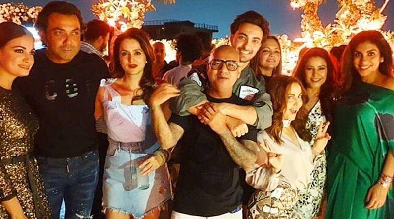 Aayush Sharma birthday bash pics! Salman Khan arrives with Iulia Vantur, Arbaaz Khan with girlfriend Georgia Andriani