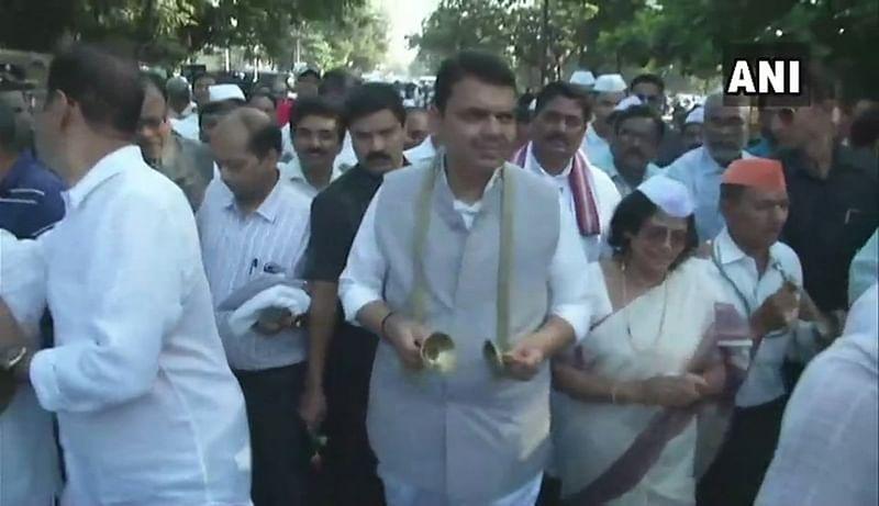 Walking on Mahatma Gandhiji's path is real tribute to him: CM Devendra Fadnavis during padyatra