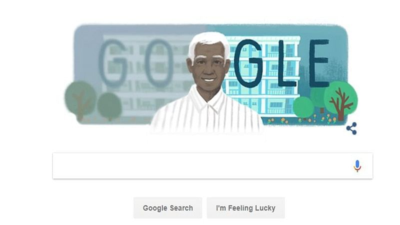 Google Doodle celebrates renowned opthalmologist Govindappa Venkataswamy's 100th birth anniversary