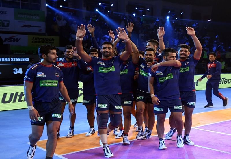 PKL 2018: Haryana Steelers' Monu Goyat bags super 10 to edge out Bengal Warriors in nail-biting battle