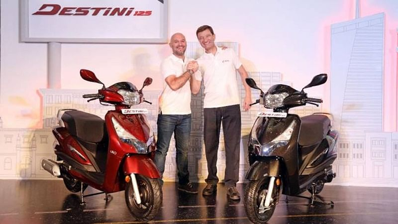 Hero Destini 125 Launched at Rs 54,650