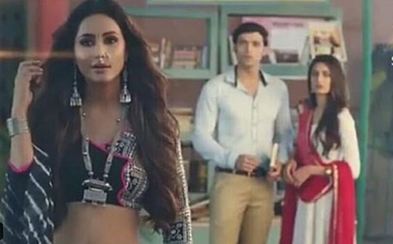 Hina Khan's first look as Komolika in Kasautii Zindagii Kay 2 out, goes viral; watch video