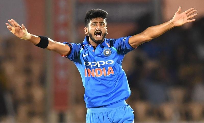 India vs West Indies: Khaleel Ahmed warned for Marlon Samuels send-off