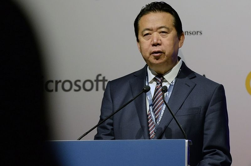 Head of Interpol Meng Hongwei accused of corruption, says Chinese government