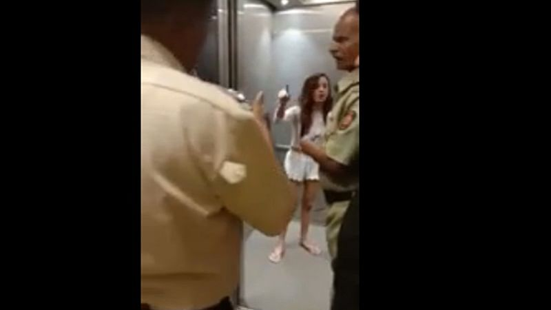 Mumbai: Model creates chaos, strips in front of cops