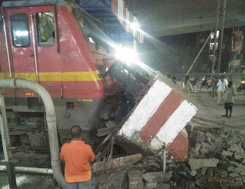 Mumbai-bound Pawan Express hits dead end at LTT, no injuries reported