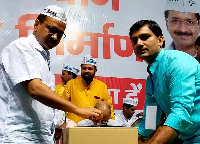 Ahead of 2019 Lok Sabha elections, Arvind Kejriwal launches donation drive for 'bankrupt' AAP