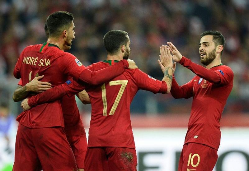 UEFA Nations League: Portugal defeat Poland 3-2 to ruin Robert Lewandowski's century celebration