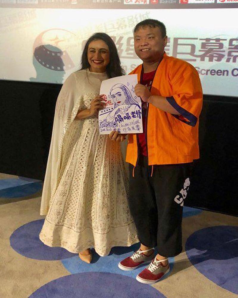 Hichki: Rani Mukherji moved to tears in China!