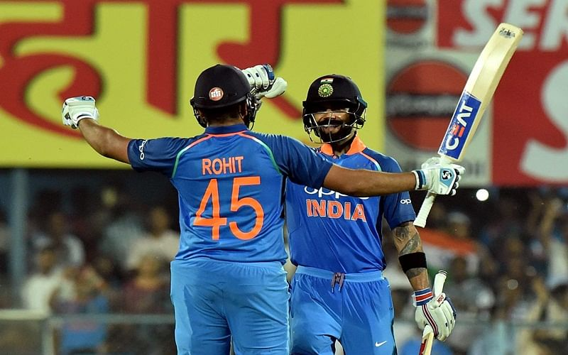 India vs West Indies: Rohit Sharma, Virat Kohli smash tons as India thrash West Indies in 1st ODI