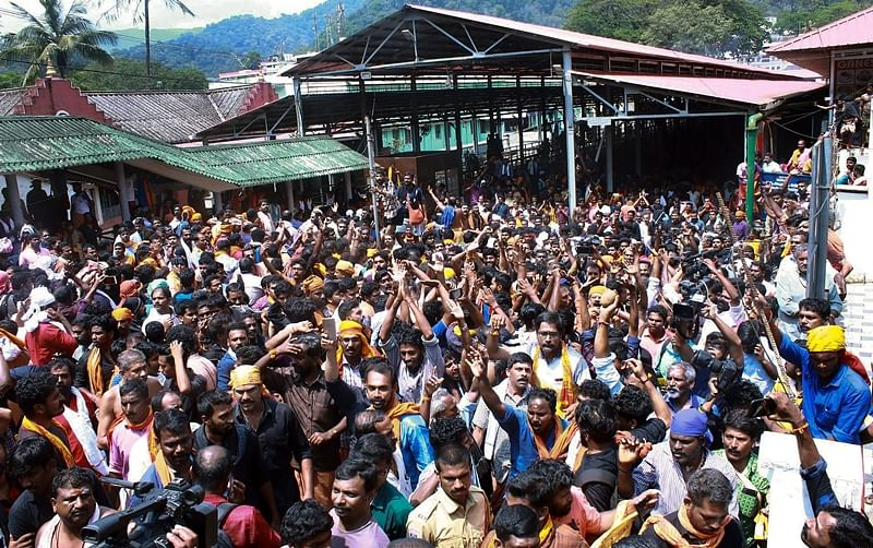 Sabarimala row: CM says 'duty-bound' to implement SC order, Oppn demands putting off implementation